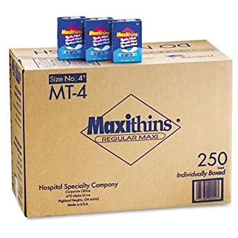 Hospeco MT-4 Maxithins Maxi Sanitary Napkin (Pack of 250)