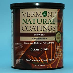 Vermont Natural Coatings Polywhey Furniture Finish Gloss