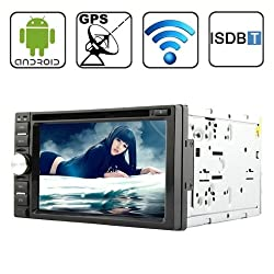 See Rungrace Universal 6.2 inch Android 4.2 Multi-Touch Capacitive Screen In-Dash Car DVD Player with WiFi / GPS / RDS / IPOD / Bluetooth / ISDB-T Details
