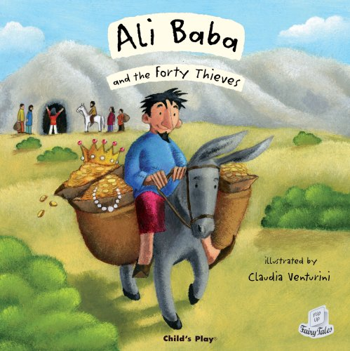 Ali Baba and the Forty Thieves (Flip Up Fairy Tales)