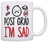 Graduation Gifts Post Grad Im Sad College High School Graduation Gift Coffee Mug Tea Cup White