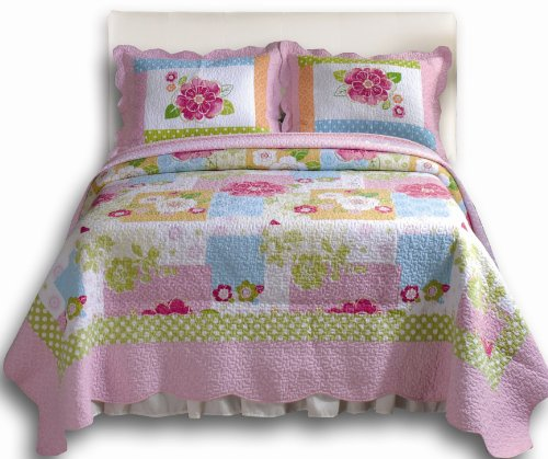 Greenland Home Adora Twin Quilt Set