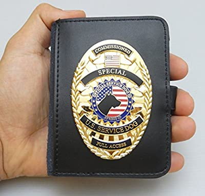 Service Dog Badge & Carrying Case By XpressID