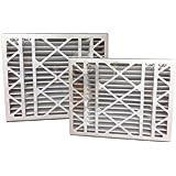 """20x25x5 MERV 8 """"Trion Air Bear"""" Replacement Air Filter (2-Pack)"""