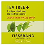 Tisserand Aromatherapy Anti-Bacterial Pure Vegetable Organic Tea-Tree Soap (100g)
