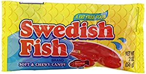 Swedish fish soft chewy candy 2 ounce packages pack of for Swedish fish amazon