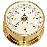 Downeaster Downeaster Wind Speed and Direction Combo with Tru Gust, Brass