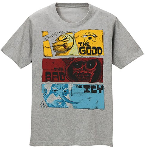 Adventure Time The Good The Bad The Icy Men's T-shirt Medium