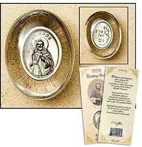 Amazon.com: St. Jude Healing Pocket Stone, Patron Saint of