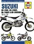 Haynes Manual for Suzuki DR-Z400 (00...