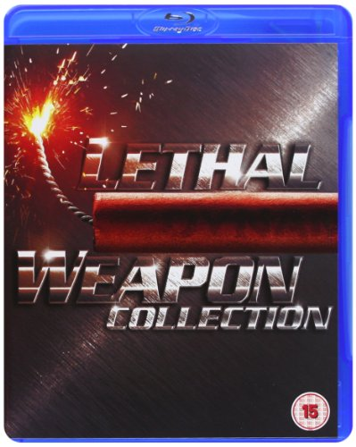 Lethal Weapon 1-4 [Blu-ray] [2005] [Region Free]