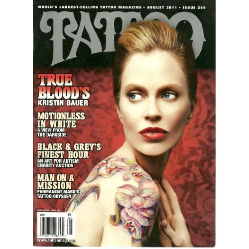 Tattoo (Magazine) ~August 2011~ Kristin Bauer *True Blood