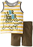 Little Rebels Boys 2-7 2 Piece Gator Short Set