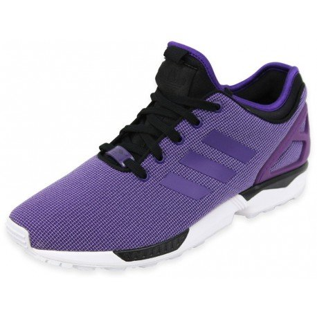 Baskets Zx Flux Nps Adidas Originals - Violet Rich