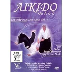 Aikido de A a Z Les techniques Vol. 2 [DVD]