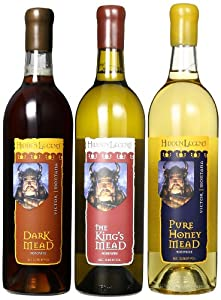 Hidden Legend Mead Variety Mixed Pack, 3 x 750 mL