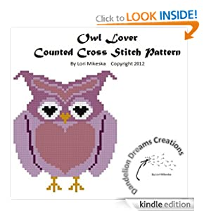 Amazon.com: Owl Lover Counted Cross Stitch Pattern eBook
