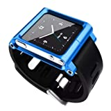 LunaTik Watch Wrist Strap for iPod Nano 6G (Blue) (Color: Blue)