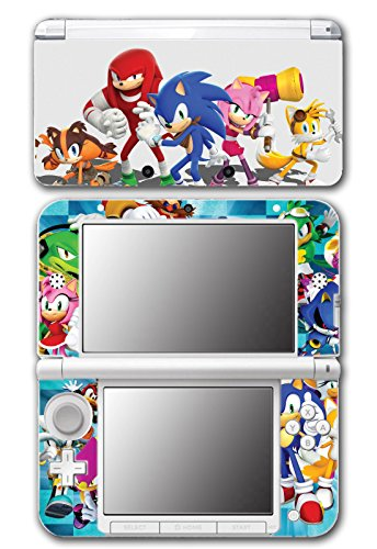 Sonic Boom Hedgehog Tails Amy Rose Knuckles Eggman Shattered Crystal Fire & Ice Orbot Cubot Shadow Video Game Vinyl Decal Skin Sticker Cover for Original Nintendo 3DS XL System (Shadow Hedgehog Game compare prices)