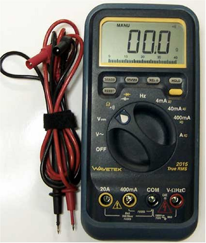 Buy Wavetek 2015 True RMS 4000 Count Analog/Digital Multimeter