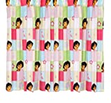 Character World 72-inch Dora the Explorer Buttons Curtains