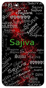 Sajiva (Full Of Life) Name & Sign Printed All over customize & Personalized!! Protective back cover for your Smart Phone : Samsung Galaxy Note-5