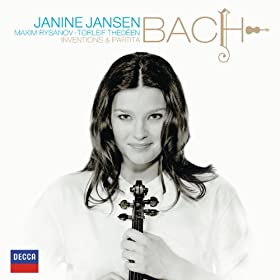 J.S. Bach: 15 Two-part Inventions, BWV 772/786 - No. 11 in G minor, BWV 782