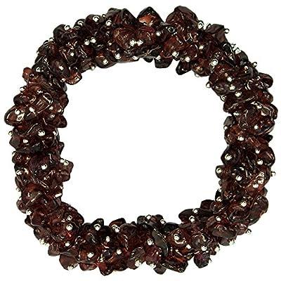 "Garnet Cluster Bracelet (7-1/2"") - 1pc."
