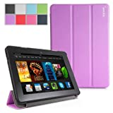 Poetic Slimline Case for New Kindle Fire HDX 7 (2013) 7inch Tablet Lavender (3 Year Manufacturer Warranty From Poetic)