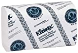 "Kimberly-Clark Professional 1999 Kleenex Paper Towel, Scott-Fold, 9.4"" Width x 12.4"" Length, White (16 Pack of 120)"
