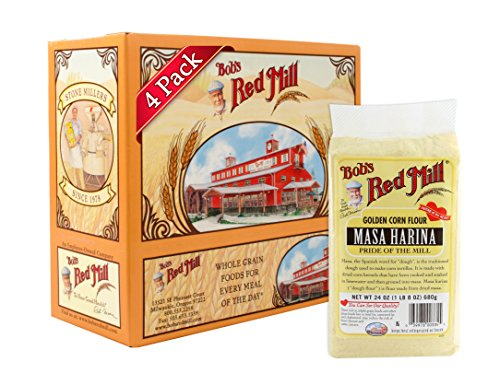 Bob's Red Mill Golden Masa Harina Corn Flour, 24-ounce (Pack of 4) (Golden Masa Harina Corn Flour compare prices)