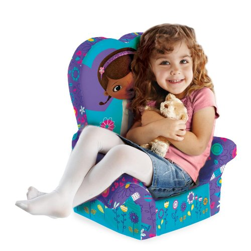 Marshmallow Children's Furniture - High Back Chair - Disney's Doc McStuffins