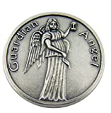 Religious Catholic Gift Guardian Angel Be At My Side to Light and Guard Pocket Token Keepsake Coin