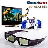 Excelvan Rechargeable 3D Active Gla