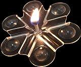 Traumhafte Lichteffekte mit Wasser und Speiseöl - 5'er Set Schwimmlichter