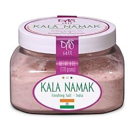 Kala Namak Salt- Organic Salt 6 oz Jar
