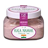 Kala Namak Salt- Salt 6 Oz Jar ~ Das Salt