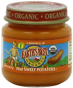 Earth's Best Organic 1st Vegetable Starter Kit, 2.5 Ounce Jars (Pack of 12)