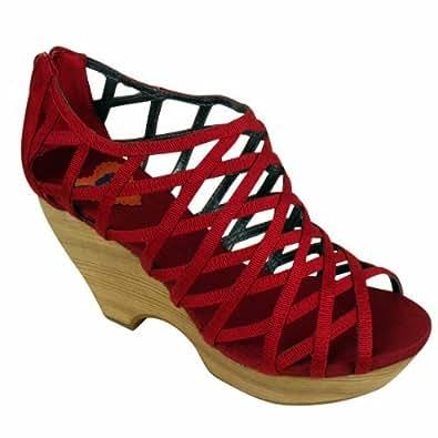 Womens Rocket Dog Lookout Platform Wedge Heels Sandals Ladies Platforms UK 8