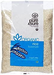 Pure & Sure Organic Basmati Rice, 1kg