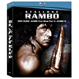 Rambo Box Set (First Blood / Rambo: First Blood Part II / Rambo III ) [Blu-ray] ~ Sylvester Stallone