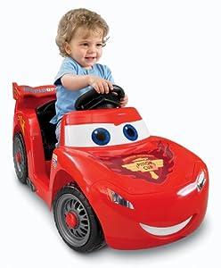 Power Wheels Disney/Pixar Cars 2 Lil' Lightning McQueen (Hudson Hornet Piston Cup) from Fisher-Price