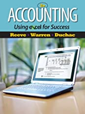 Accounting Using Excel for Success (Managerial Accounting)