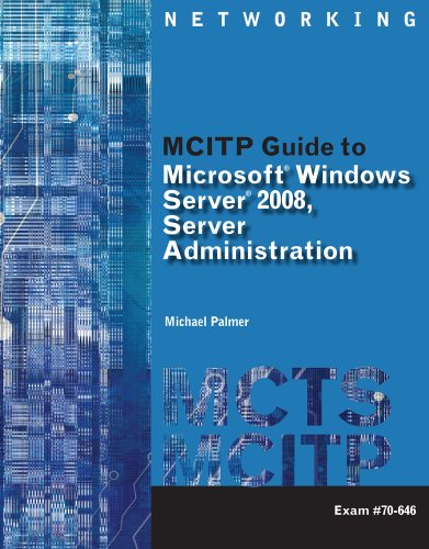 Web-Based Labs Printed Access Cards for Palmer's MCITP Guide to Microsoft  Windows Server 2008 Administration, Exam #70-646