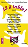 13 � table ! 2016 / Les Restos du Coeur par Collectif