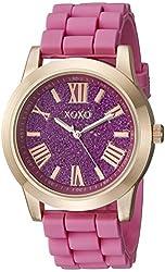 XOXO Women's XO8086 Analog Display Analog Quartz Pink Watch