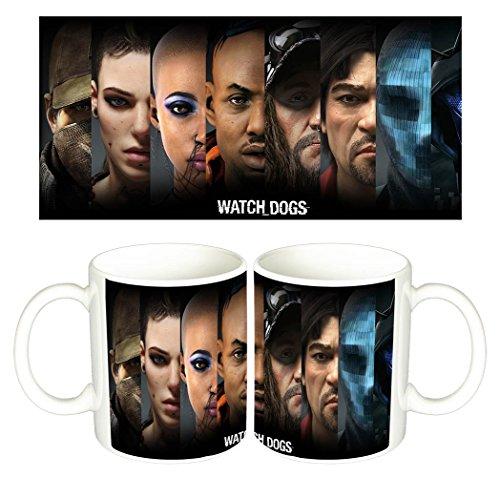 Watch Dogs B Tazza Mug