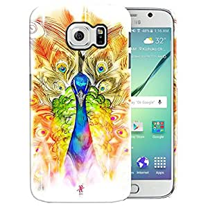 Theskinmantra Peacock stare back cover for samsung Galaxy S6