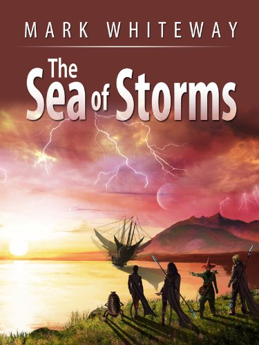 E-book - Lodestone Book One: The Sea of Storms by Mark Whiteway