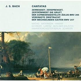 Der zufriedengestellte Aolus: Zerreisset, serprenget, zertrummert die Gruft, BWV 205: Vivat! August, August vivat! (Chorus)
